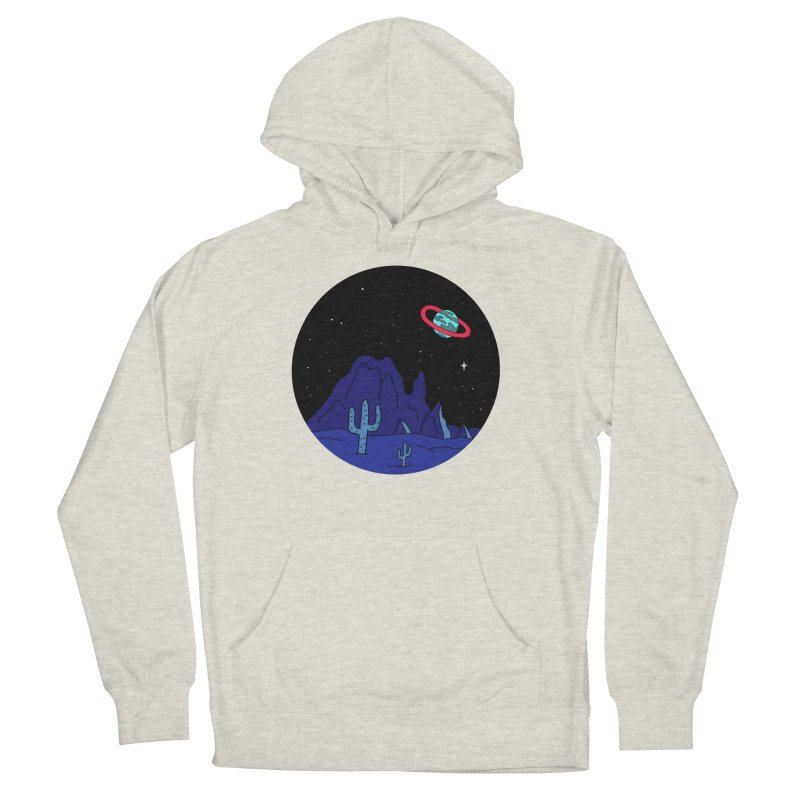 Black Gives Way to Blue Men's Pullover Hoody by darruda's Artist Shop