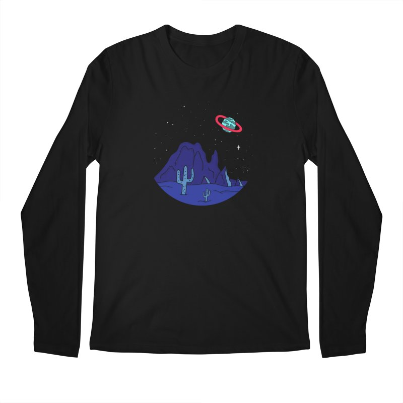 Black Gives Way to Blue Men's Longsleeve T-Shirt by darruda's Artist Shop