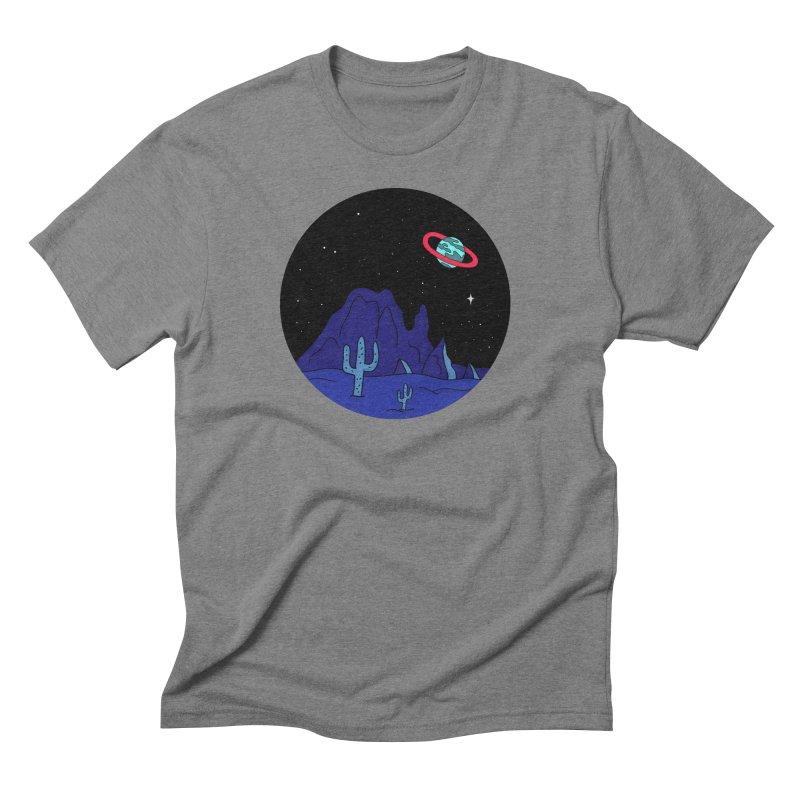 Black Gives Way to Blue Men's Triblend T-Shirt by darruda's Artist Shop