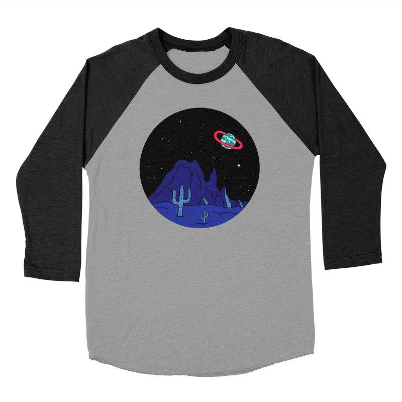 Black Gives Way to Blue Men's Baseball Triblend T-Shirt by darruda's Artist Shop
