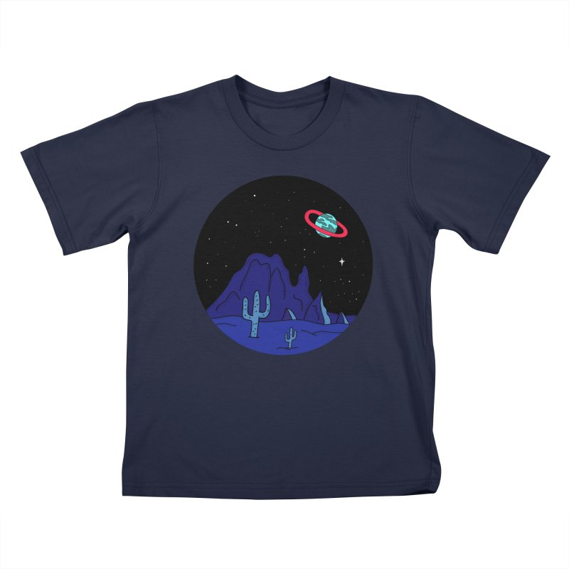 Black Gives Way to Blue Kids T-Shirt by darruda's Artist Shop