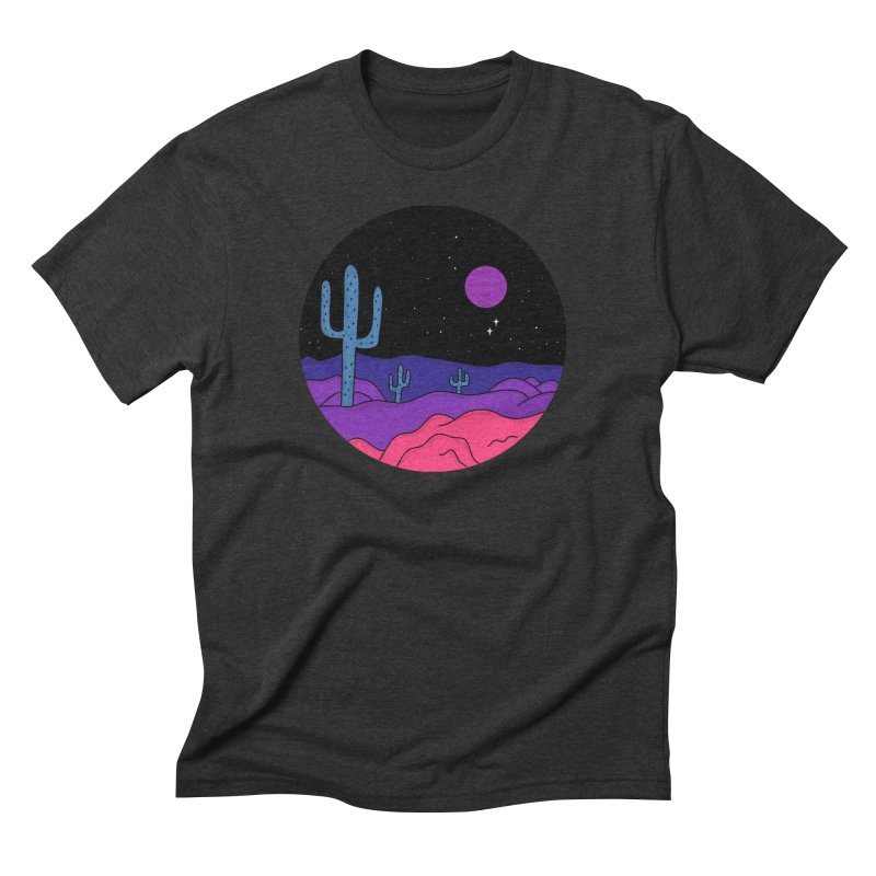 Violet Stone Men's Triblend T-Shirt by darruda's Artist Shop