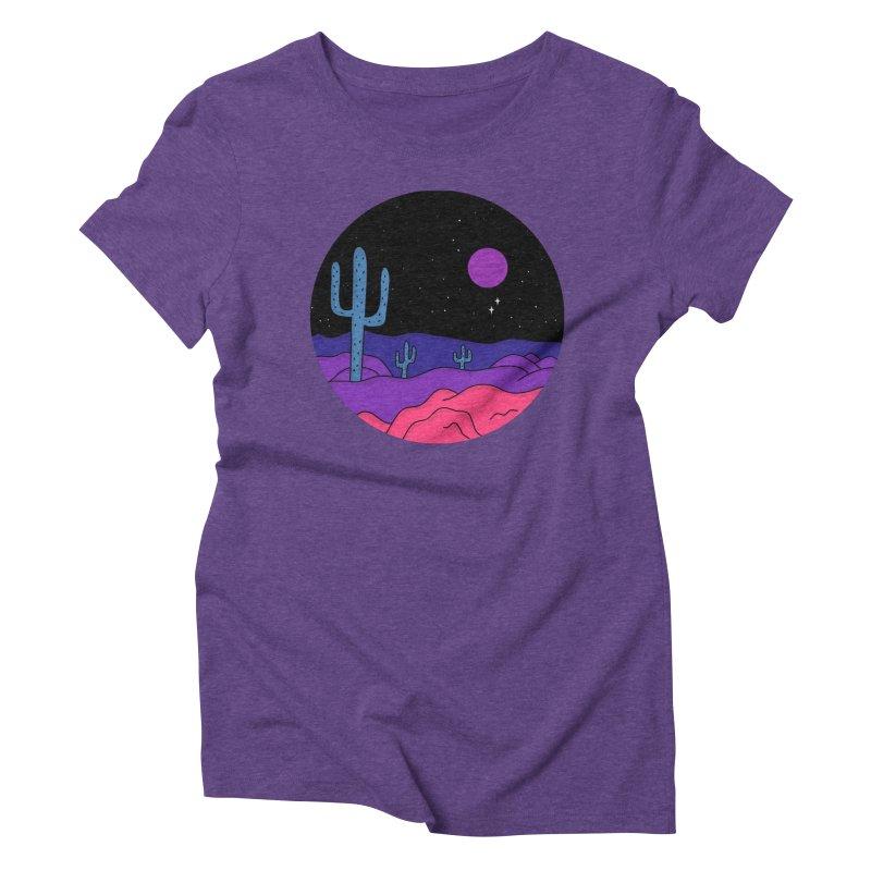 Violet Stone Women's Triblend T-Shirt by darruda's Artist Shop