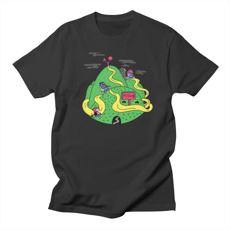 Geeky Races Women's Unisex T-Shirt by darruda's Artist Shop