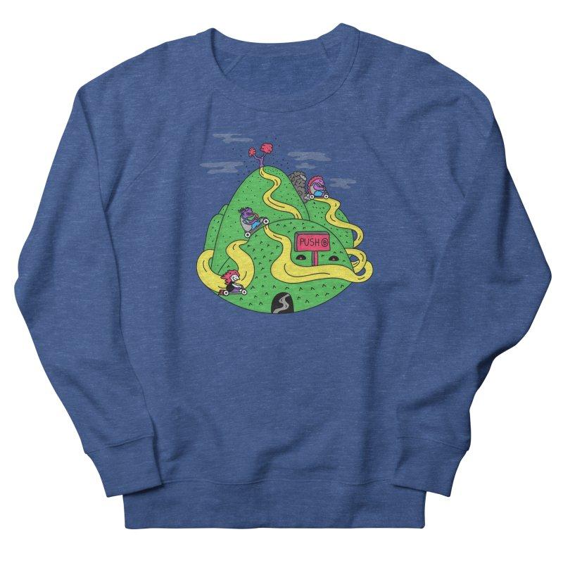Geeky Races Men's Sweatshirt by darruda's Artist Shop