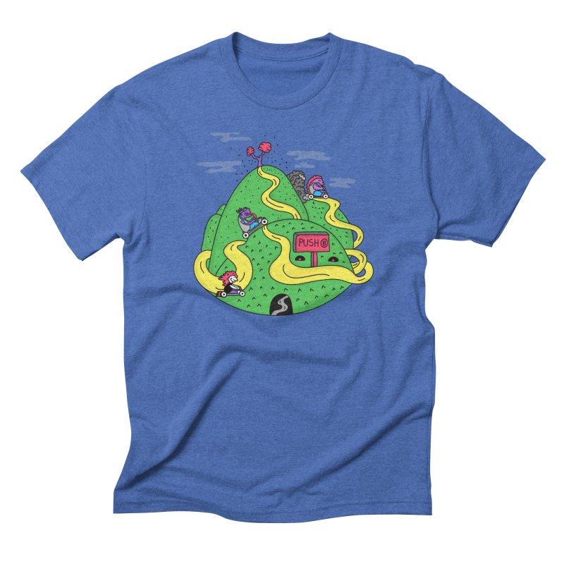 Geeky Races Men's Triblend T-Shirt by darruda's Artist Shop