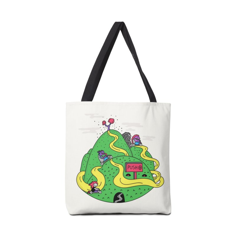 Geeky Races Accessories Bag by darruda's Artist Shop