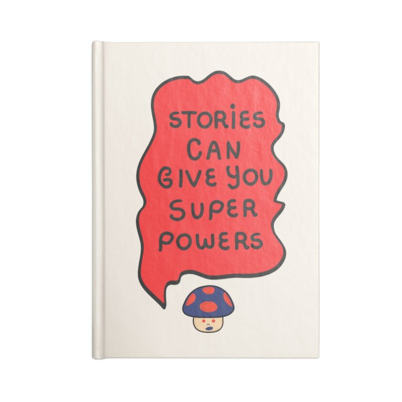 Superpowers Accessories Notebook by darruda's Artist Shop