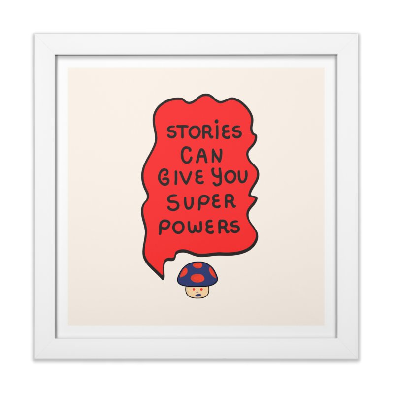 Superpowers Home Framed Fine Art Print by darruda's Artist Shop