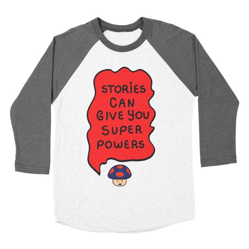 Superpowers Men's Baseball Triblend T-Shirt by darruda's Artist Shop