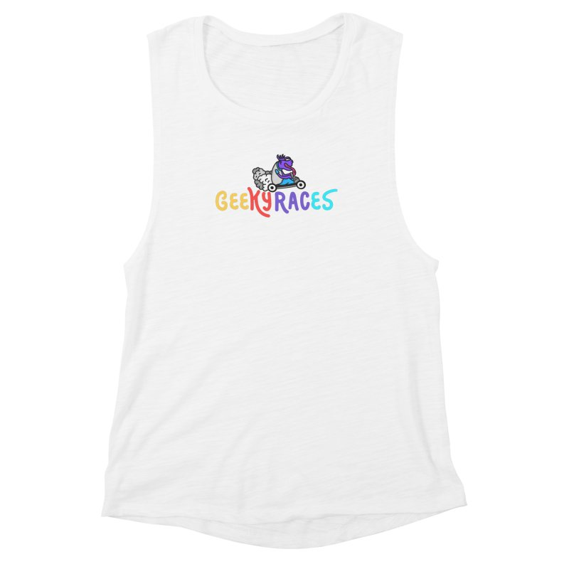 Geek Speed Women's Muscle Tank by darruda's Artist Shop