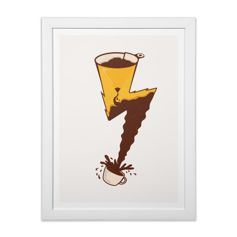 Energy Boost Home Framed Fine Art Print by darruda's Artist Shop