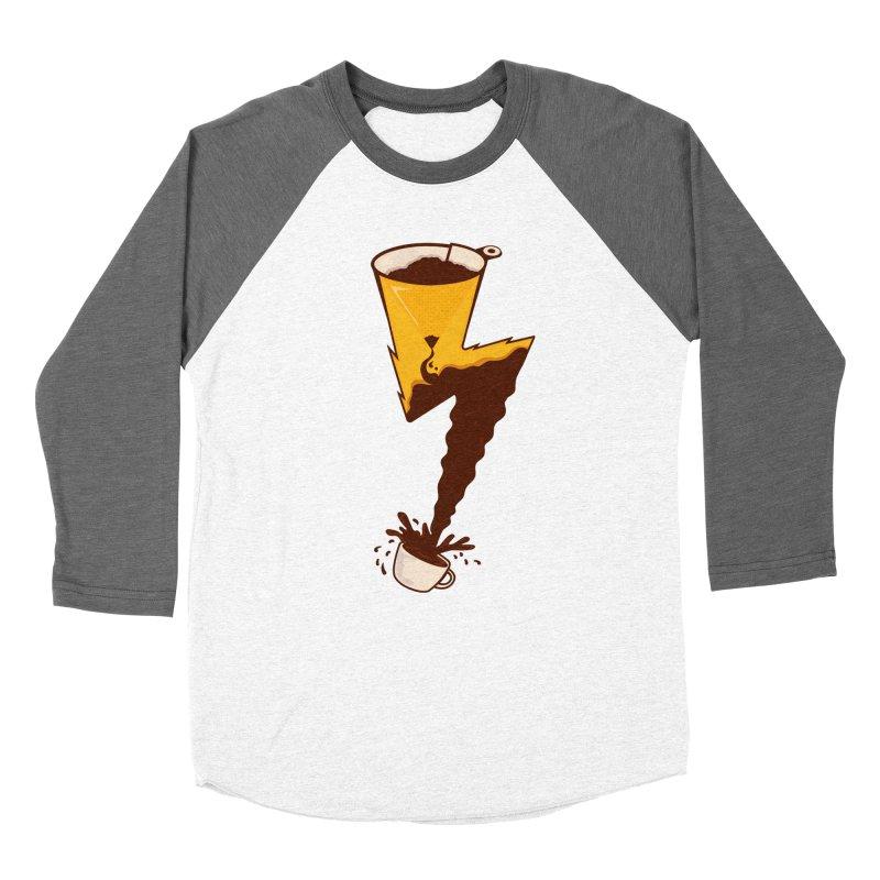 Energy Boost Men's Baseball Triblend T-Shirt by darruda's Artist Shop