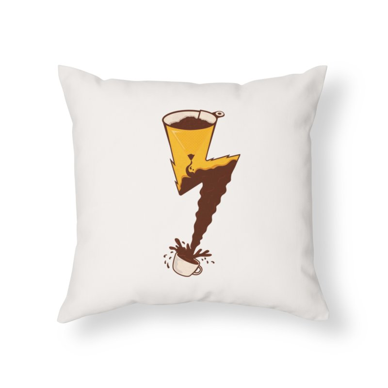 Energy Boost Home Throw Pillow by darruda's Artist Shop