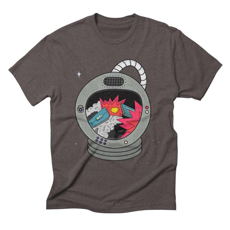 Astro Tv Men's Triblend T-Shirt by darruda's Artist Shop