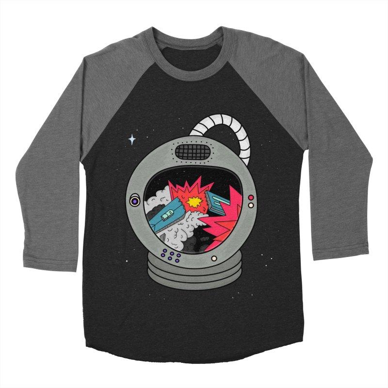 Astro Tv Men's Baseball Triblend T-Shirt by darruda's Artist Shop
