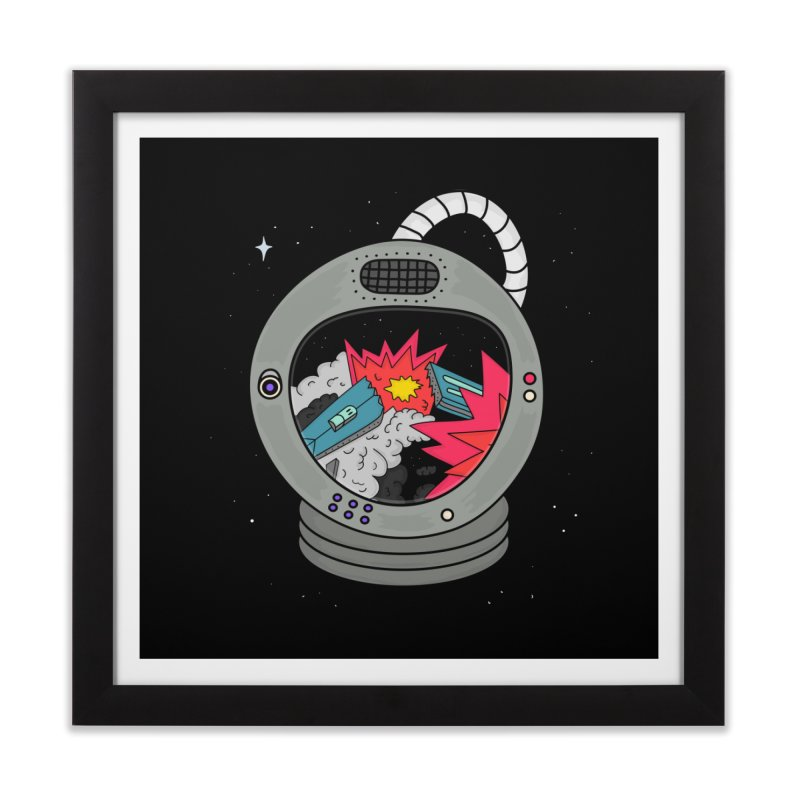 Astro Tv Home Framed Fine Art Print by darruda's Artist Shop