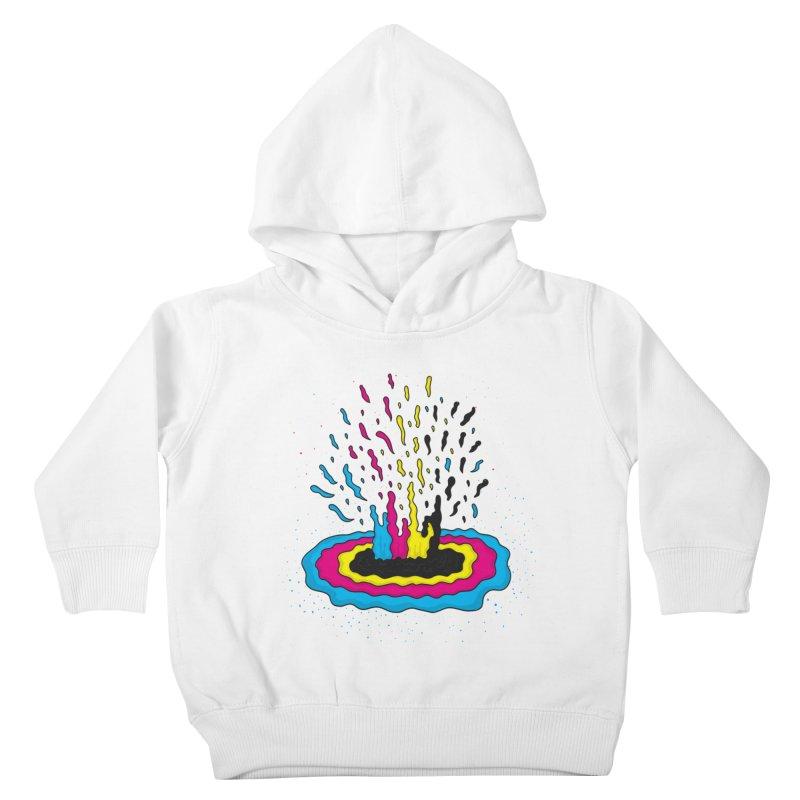 CMYK Supernova Kids Toddler Pullover Hoody by darruda's Artist Shop