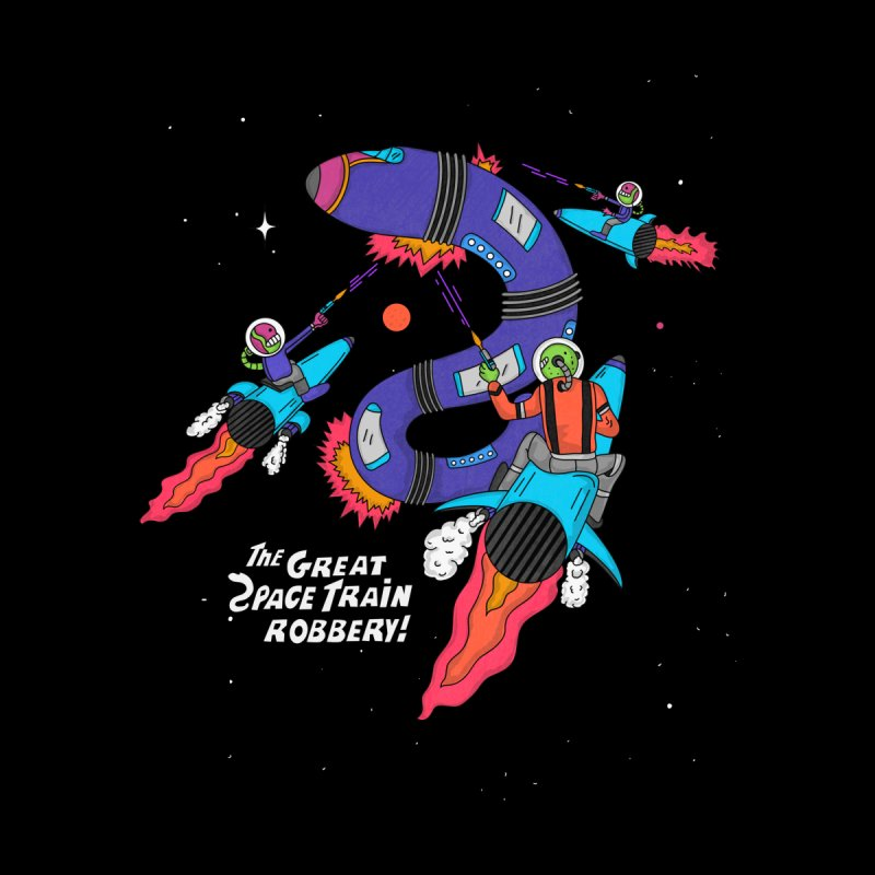 The Great Space Train Robbery by darruda's Artist Shop