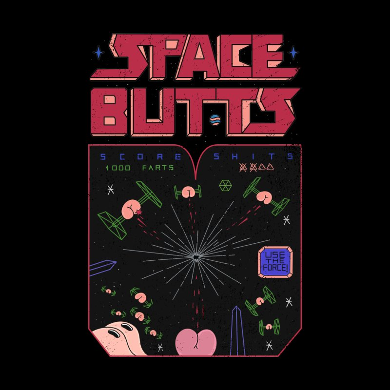 Space Butts by darruda's Artist Shop