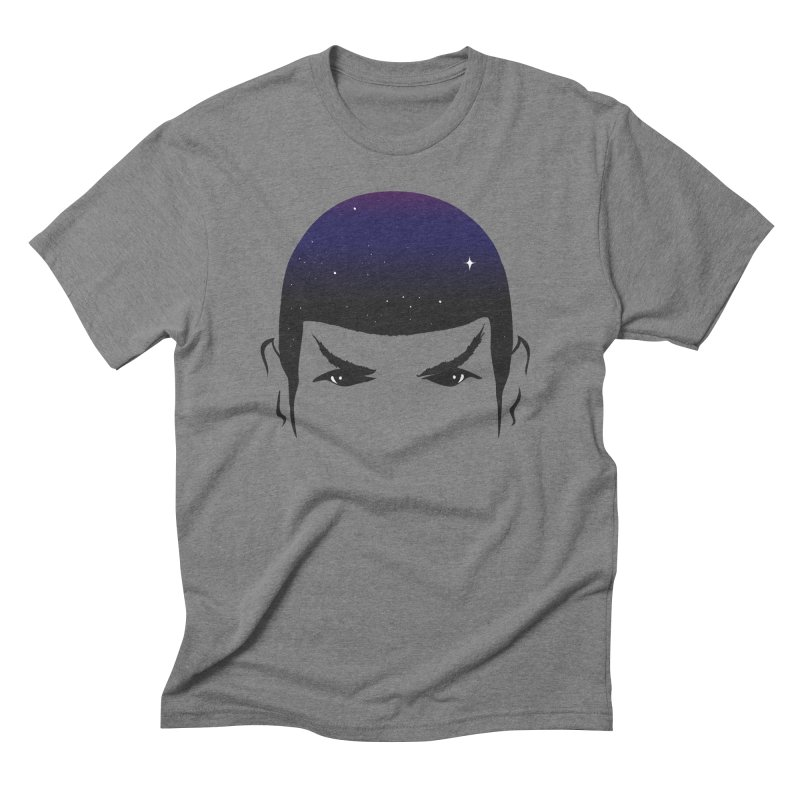 The Last Star in Men's Triblend T-Shirt Grey Triblend by darruda's Artist Shop