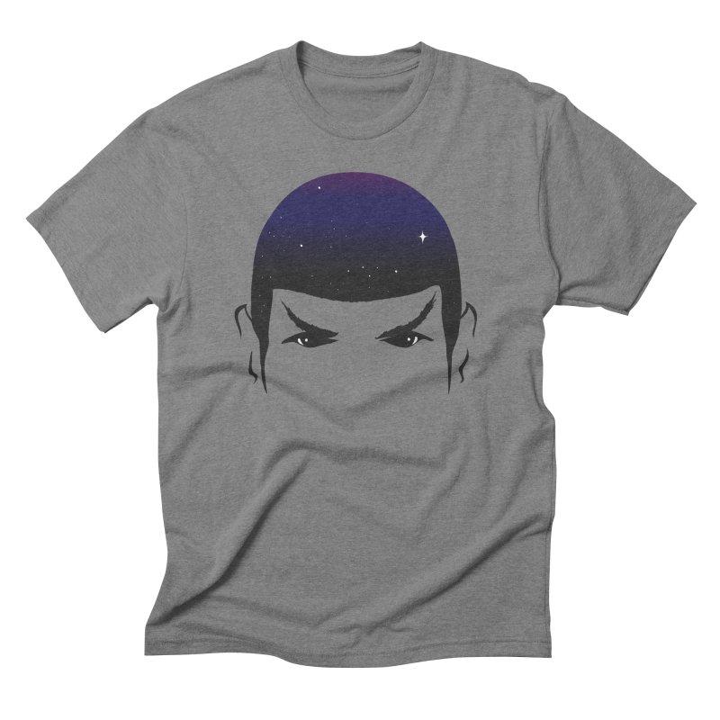 The Last Star in Men's Triblend T-Shirt Grey Triblend by darruda's Artist Shop