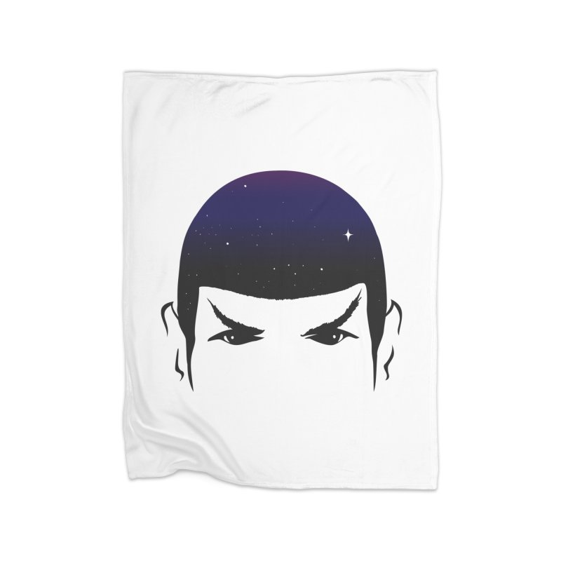 The Last Star Home Blanket by darruda's Artist Shop