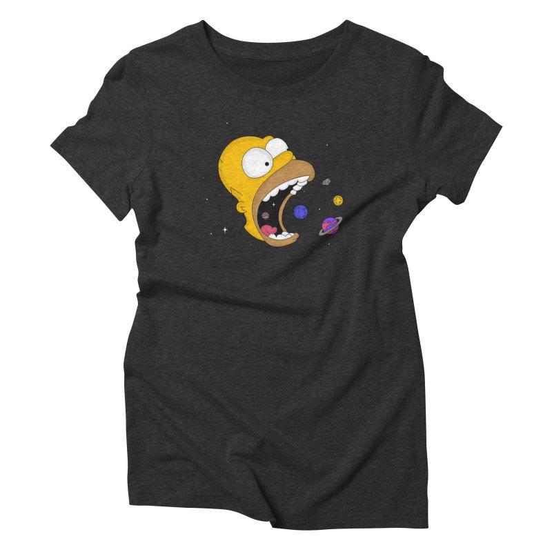 The Crusher Women's Triblend T-Shirt by darruda's Artist Shop