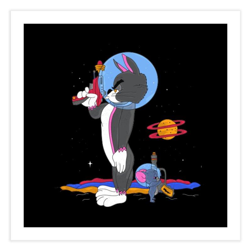 Planetary Rivals Home Fine Art Print by darruda's Artist Shop