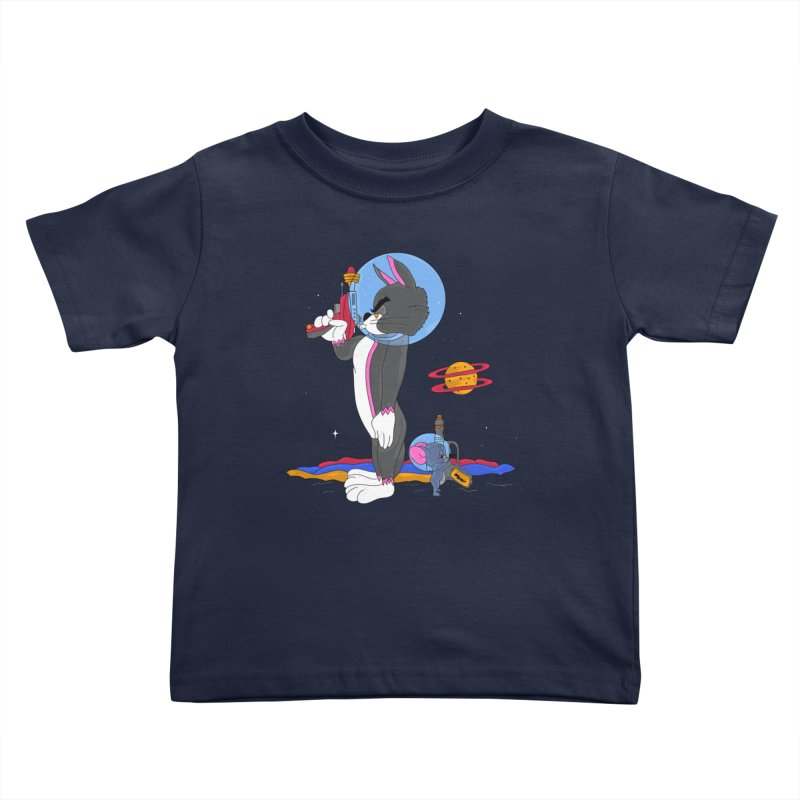 Planetary Rivals Kids Toddler T-Shirt by darruda's Artist Shop