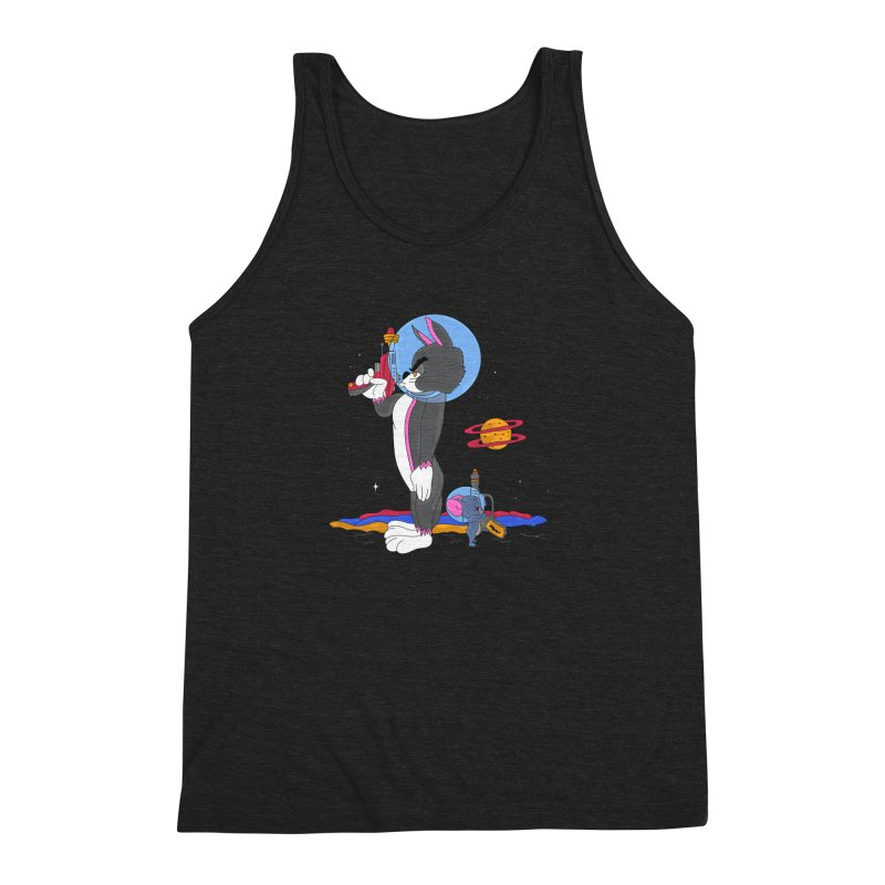 Planetary Rivals Men's Triblend Tank by darruda's Artist Shop