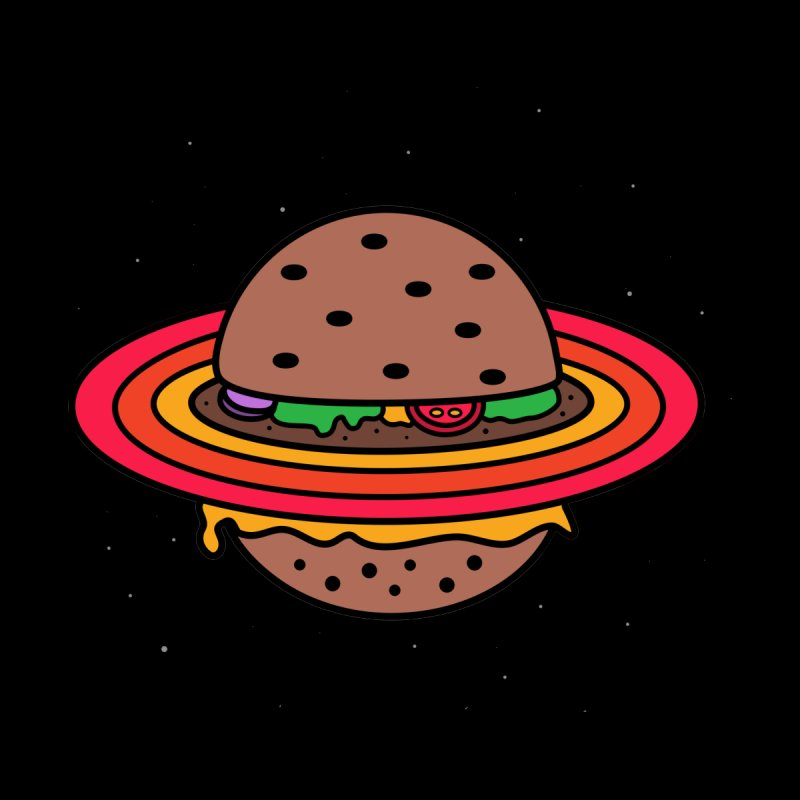 Planet Burger by darruda's Artist Shop