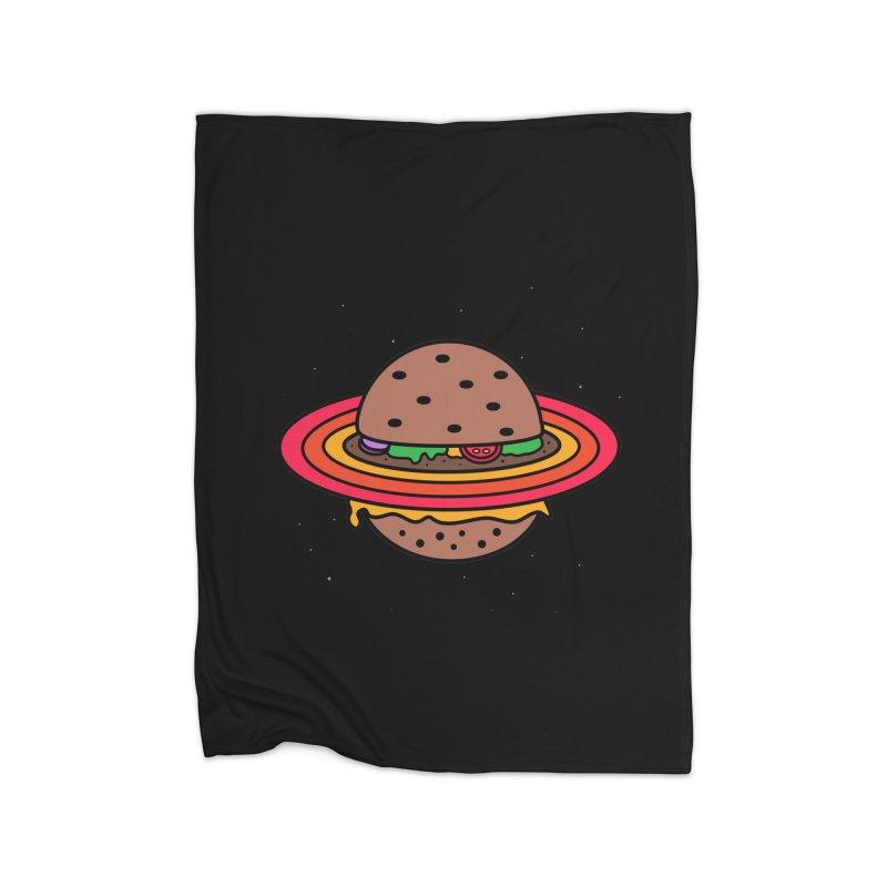 Planet Burger Home Blanket by darruda's Artist Shop