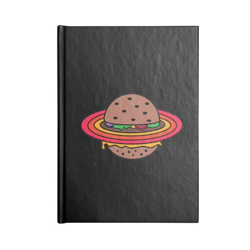 Planet Burger Accessories Notebook by darruda's Artist Shop
