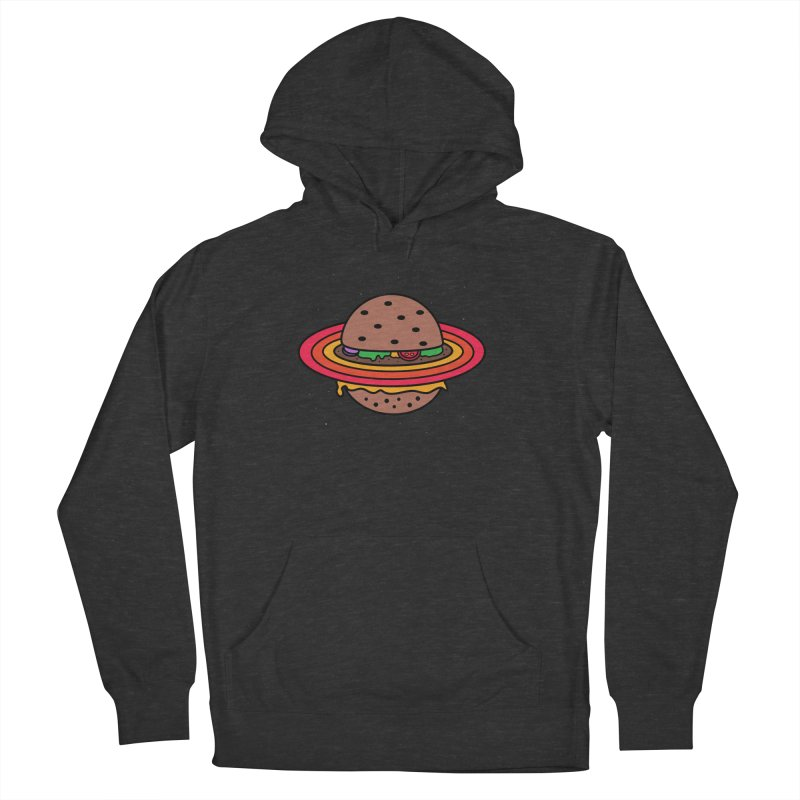 Planet Burger Women's Pullover Hoody by darruda's Artist Shop
