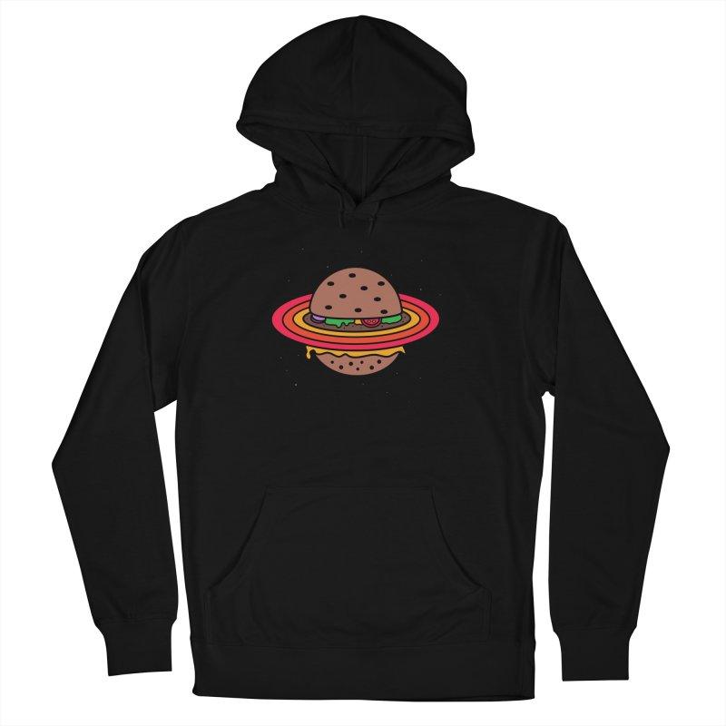 Planet Burger Men's Pullover Hoody by darruda's Artist Shop