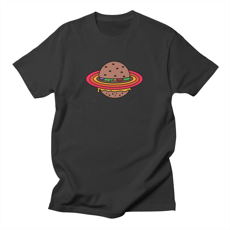 Planet Burger Men's T-Shirt by darruda's Artist Shop