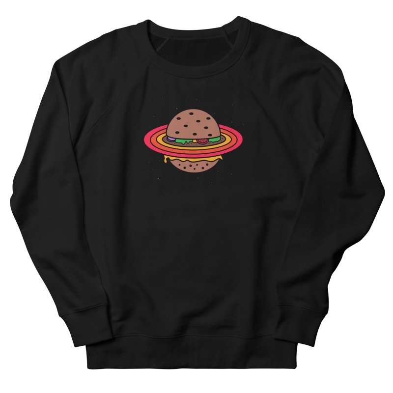 Planet Burger Women's Sweatshirt by darruda's Artist Shop