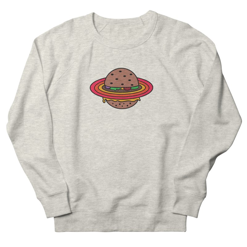 Planet Burger Men's Sweatshirt by darruda's Artist Shop