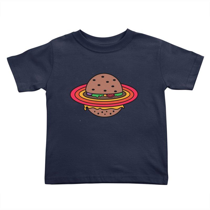 Planet Burger Kids Toddler T-Shirt by darruda's Artist Shop