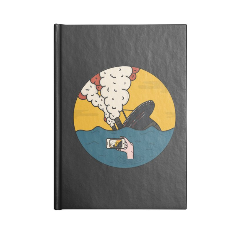 Social Catastrophe Accessories Notebook by darruda's Artist Shop