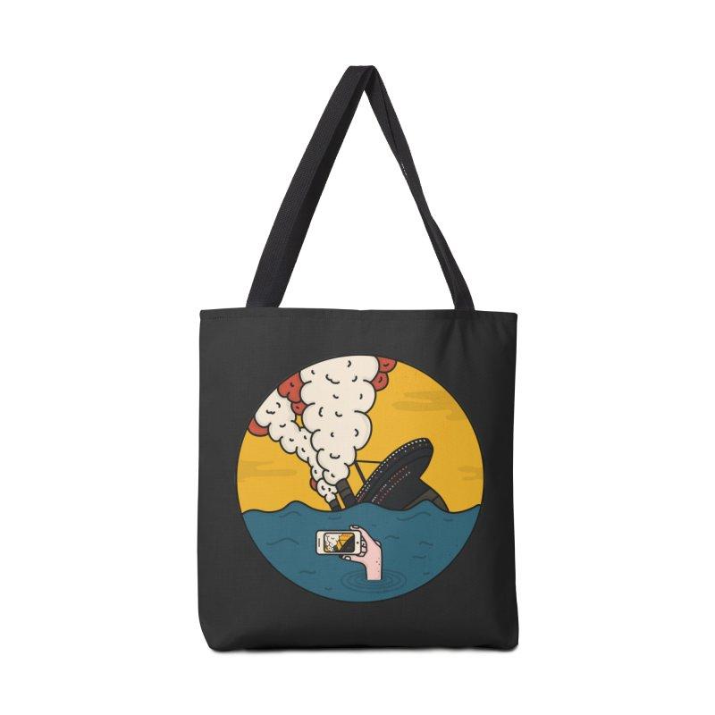 Social Catastrophe Accessories Bag by darruda's Artist Shop