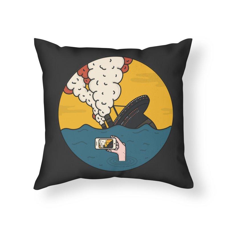 Social Catastrophe Home Throw Pillow by darruda's Artist Shop