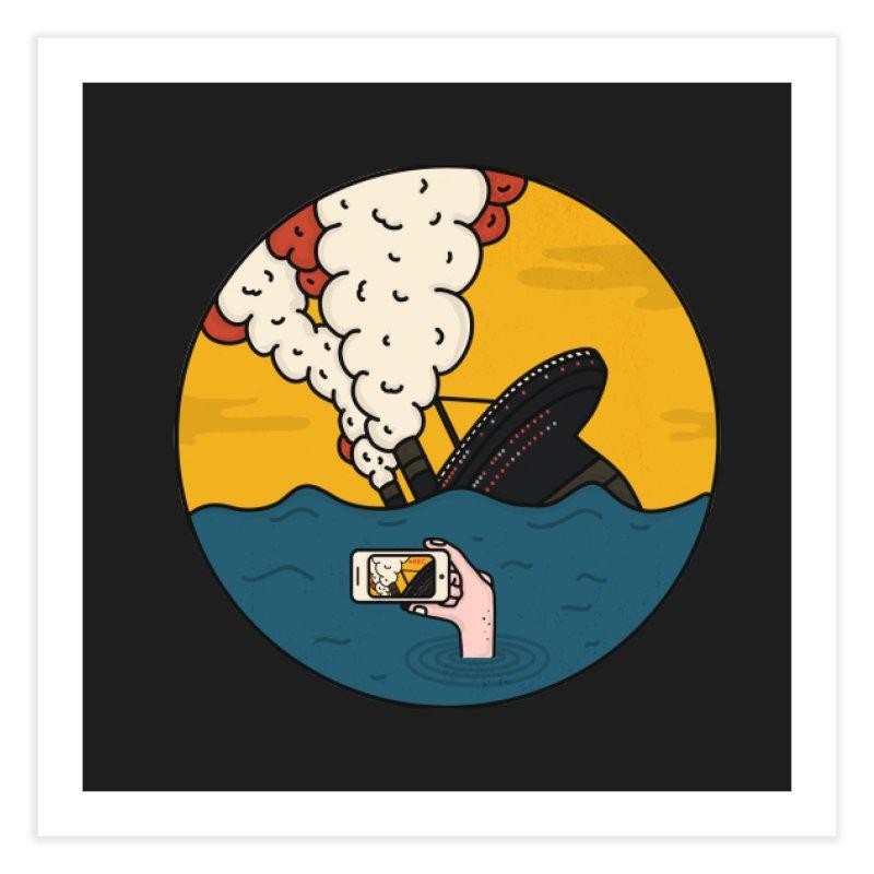 Social Catastrophe Home Fine Art Print by darruda's Artist Shop