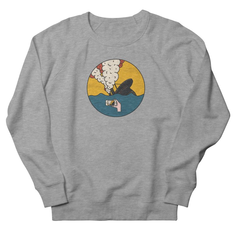 Social Catastrophe Men's Sweatshirt by darruda's Artist Shop