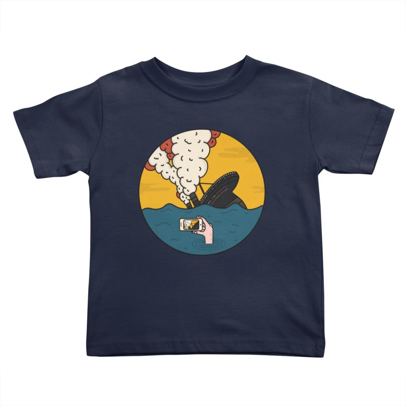Social Catastrophe Kids Toddler T-Shirt by darruda's Artist Shop