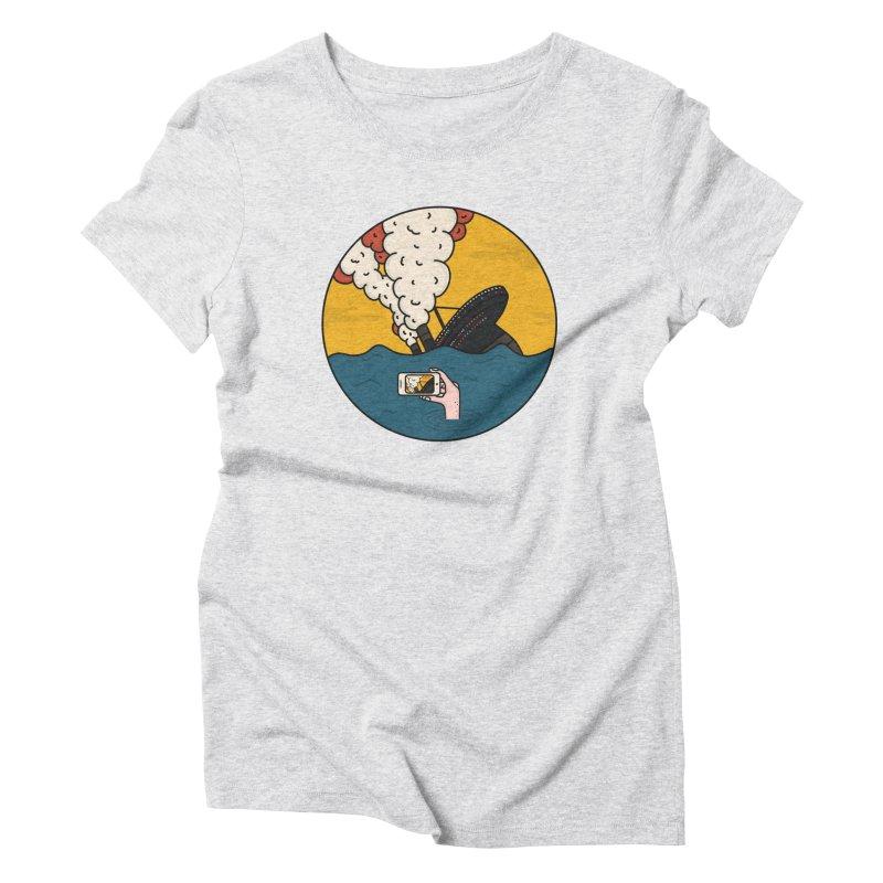 Social Catastrophe Women's Triblend T-Shirt by darruda's Artist Shop