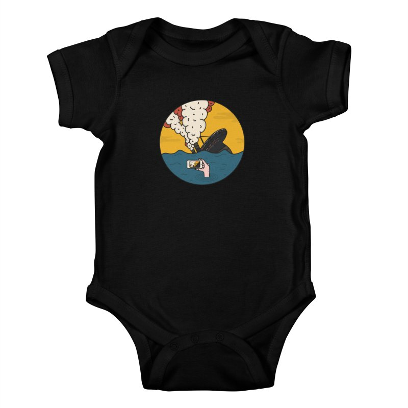 Social Catastrophe Kids Baby Bodysuit by darruda's Artist Shop