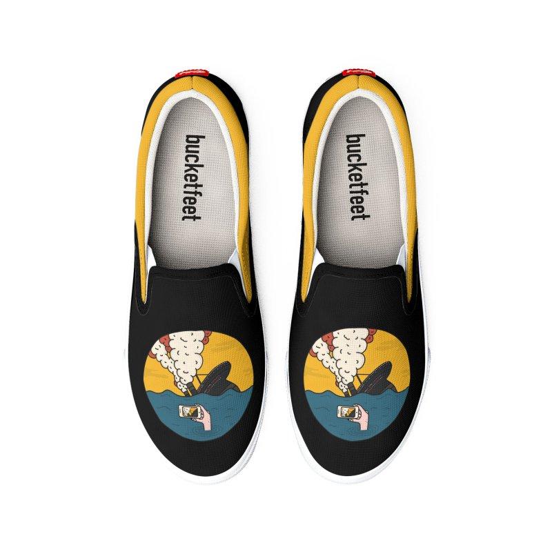 Social Catastrophe Men's Shoes by darruda's Artist Shop