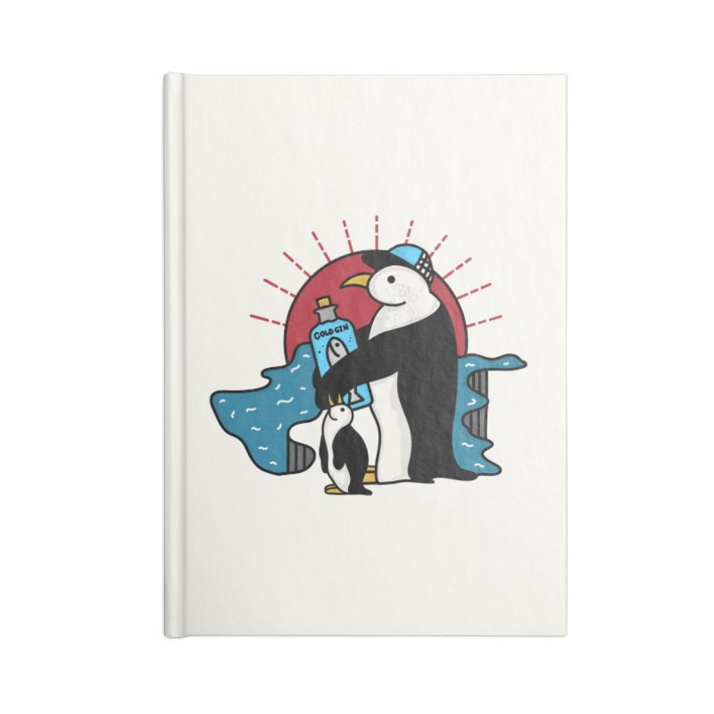 Cold Gin Time Again Accessories Notebook by darruda's Artist Shop